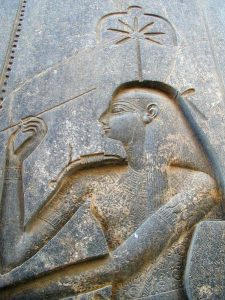 Seshat is the Egyptian Goddess of Writing, or Scribe of the Gods.